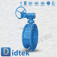 Didtek Trade Assurance Ship and building 1 inch butterfly valve