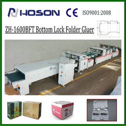 ZH-1600BFT HOSON Automatic Corrugated Carton Bottom Lock Box Folding Gluing Machine