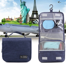 Chiyuan Folding Washing Oxford Toiletry Travel Cosmetic Bag
