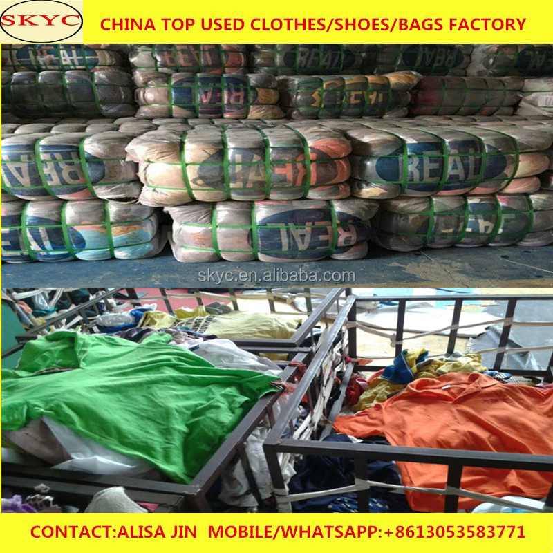 wholesale used clothing, used clothes in bales korea