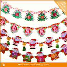 Best Selling Elegant Handmade Christmas Paper Hanging Decorations