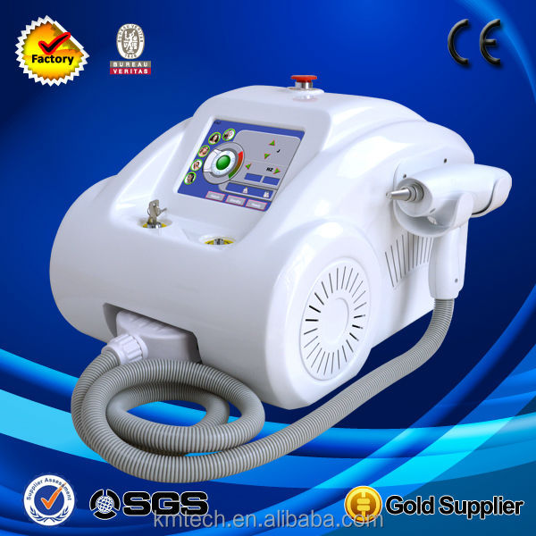 1800W Portable Tattoo Removal Laser Machine with 532nm &1064nm