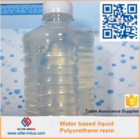 Water based resin of polyurethane liquid waterproof coating
