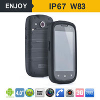 4.0 inch IP67 quad-core MTK6582 1GB+4GB android 4.2 waterproof dustproof smart phone dual sim card