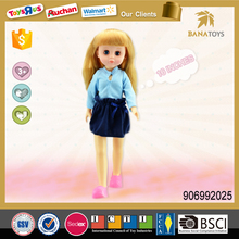 Fashion Doll Type and Vinyl Material Blond Girl Doll Toys