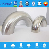 stainless steel BW fittings 45degree90degree180degree elbow 304 304L 316L 317L 904 347H s31803 s32750
