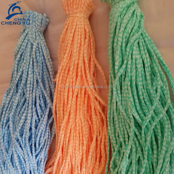 100 polyester non woven mop yarn for mops