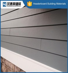 Factory Popular originality fibre cement cladding be used for villa wholesale price