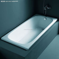 Antislip enamel steel bathtub bathtub products