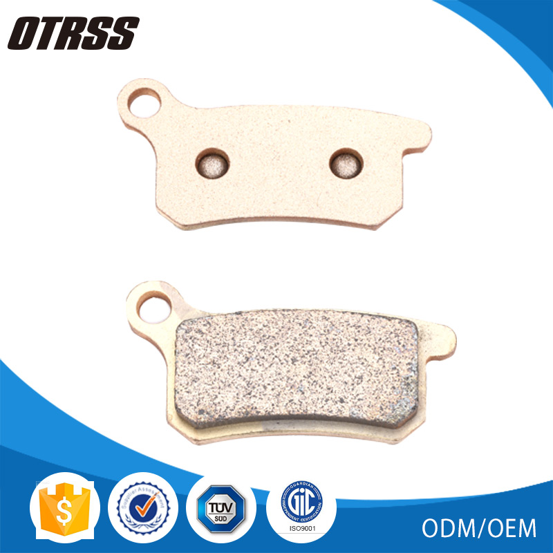 Ultra high HH rated friction copper disc brake pads for KAWASAKI DIRT KX 250