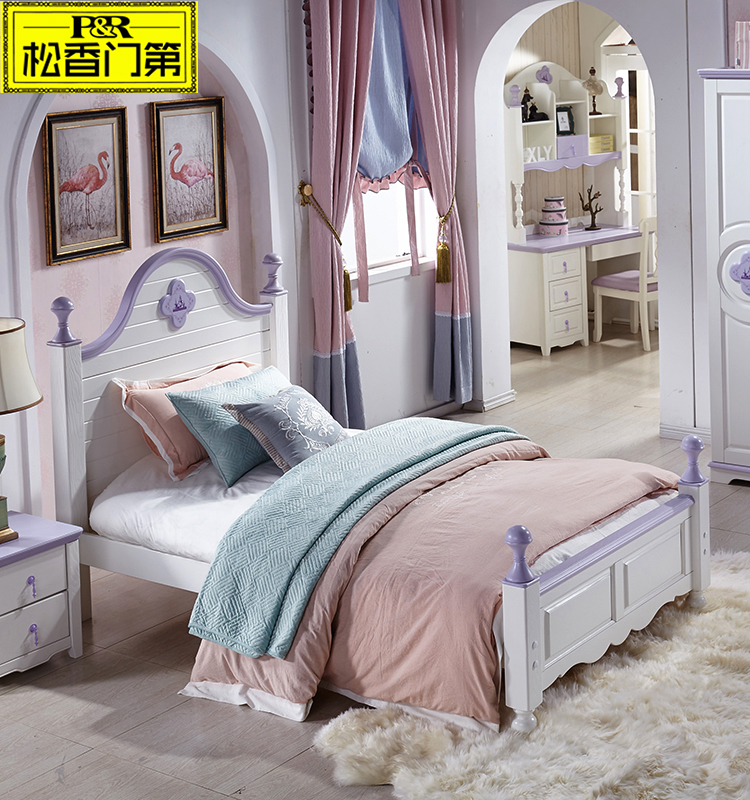 durable modern bed made in xuzhou for princess