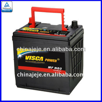 Maintenance Free battery CMF 78-600 12V60AH