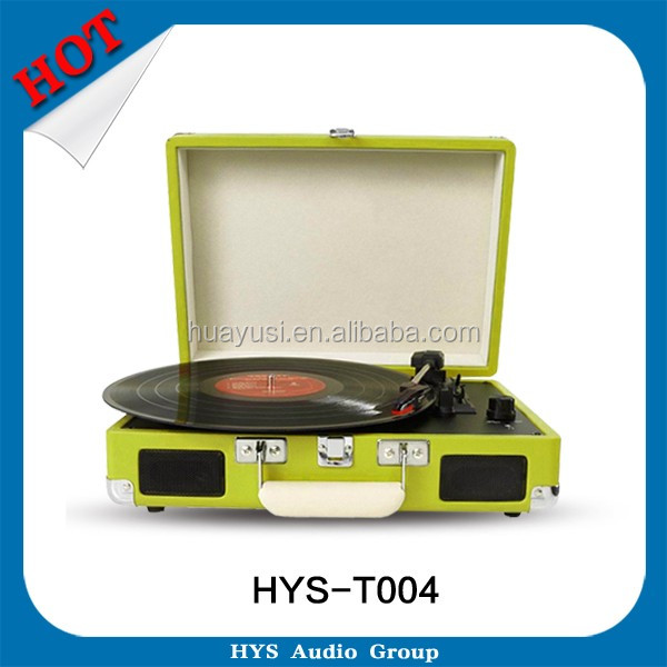 Wholesale High End Audio Turntable Player Music SD Card Inserts Recordable