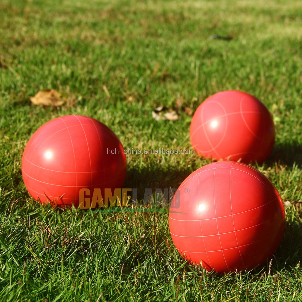 100 mm Bocce Ball Set Boccia Game Set bocce ball set