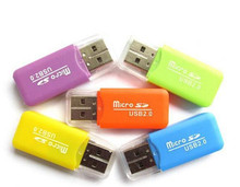 High quality Mini size usb 2.0 card reader for Raspberry Pi