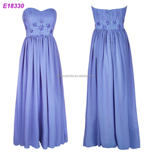 Chiffon Long Formal Wedding Party Gowns Maternity Evening Dress