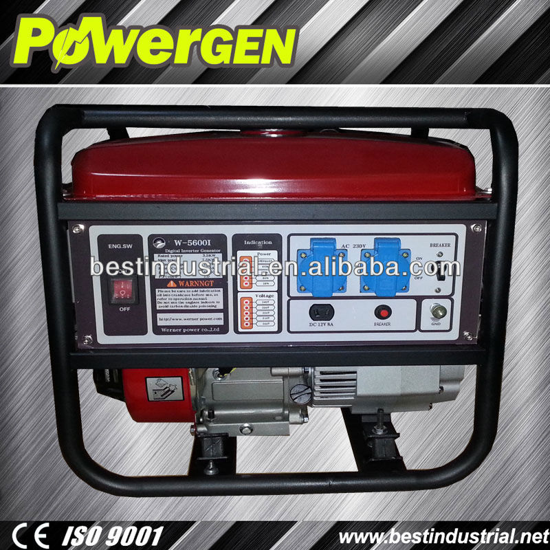 hot sale!!!3.5kw portable single-cylinder fme digital inverter generator
