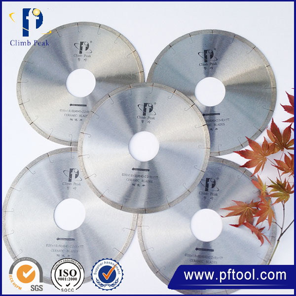 China wholesale high quality Dry Cutting Tile Saw Blade