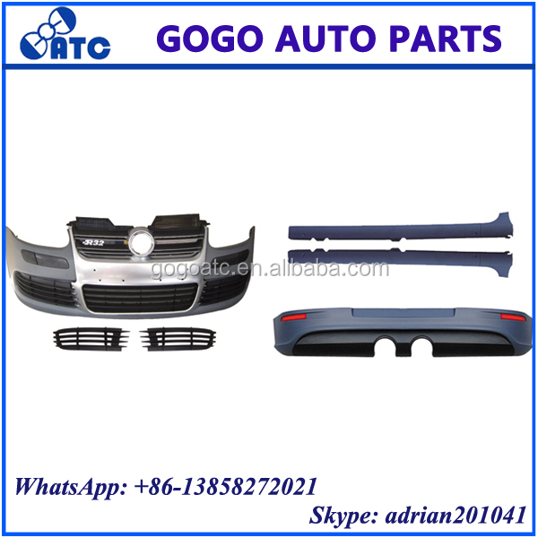 FOR VW GOLF 5 R32 2005-2011 FRONT AND REAR BUMPER FRONT AND REAR BODY KITS