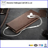 Custom leather card holder mobile phone cover case for iphone 6