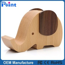 Elephant music box for christmas gift wooden music box