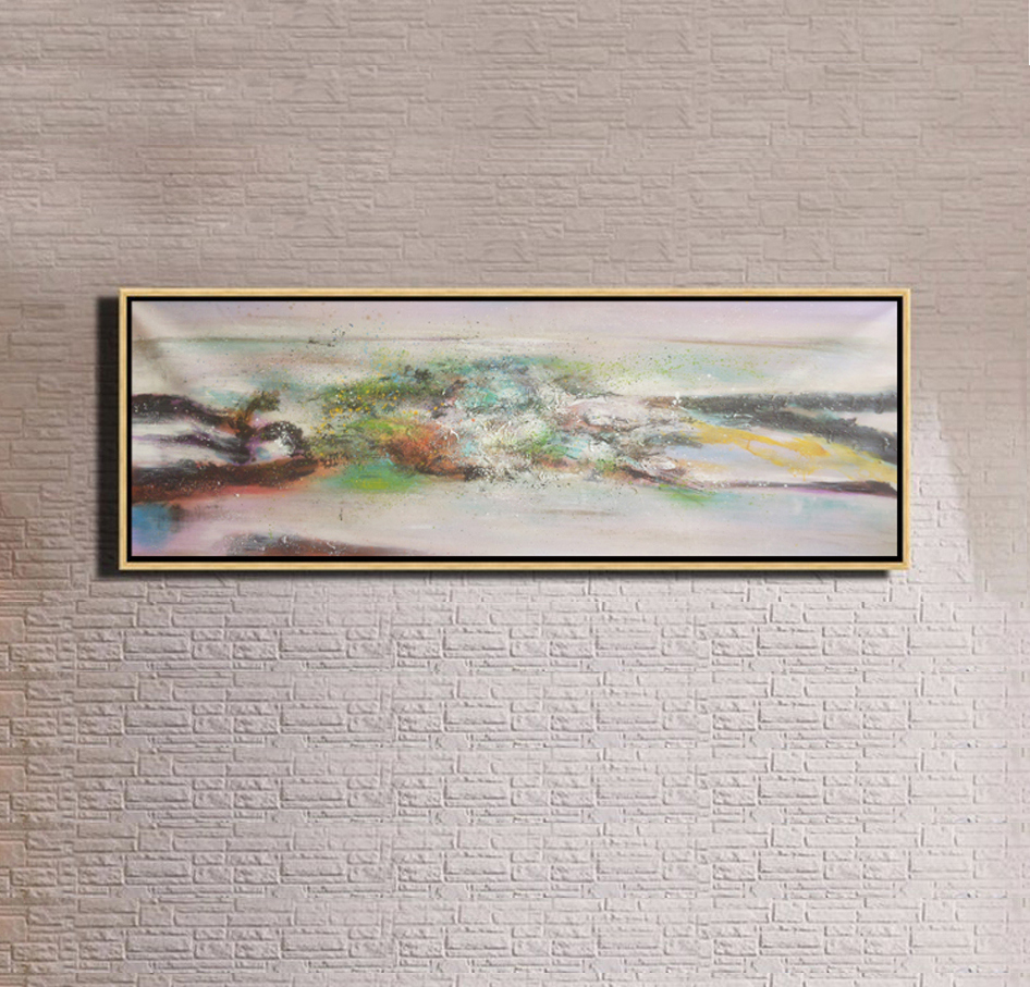 Guangzhou home decor wall art abstract oil painting on canvas