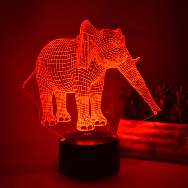 Creative 3D night light LED tablelight USB light colorful color 3D cube vision lights
