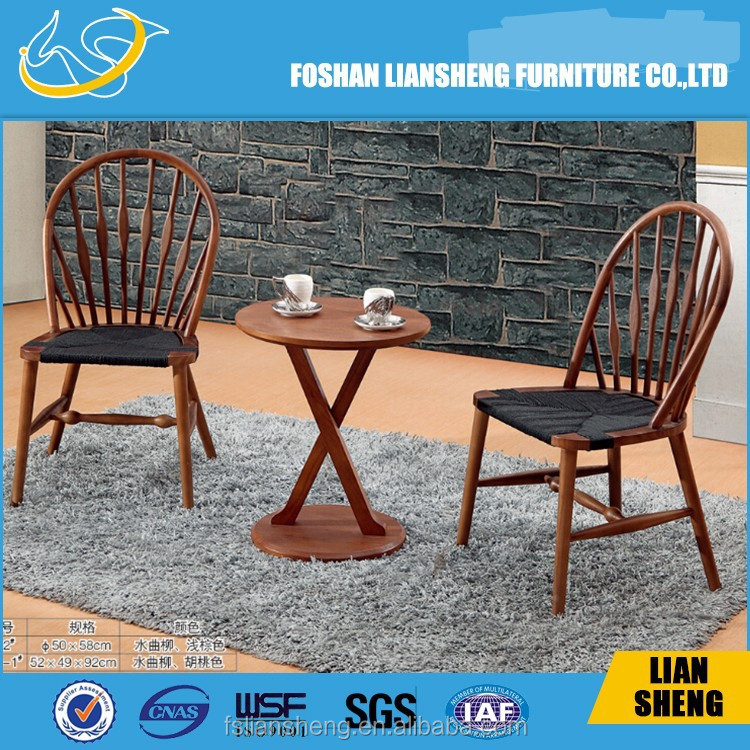 2015 New postmodern left arm dining chair wood chair use with oxhide leather/fabric chair from china 2015 hot sale model:A013
