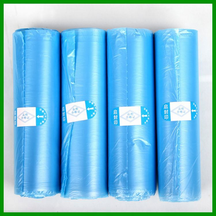 hdpe t-shirt bag for garbage NO.345 large rubbish garbage bag on roll