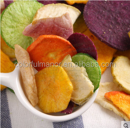 VF vegetable chips Fruits Chips Snacks