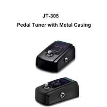 Wholesale JT-305 mini guitar pedal tuner with metal casing