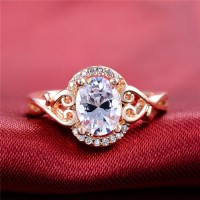 Man-made Wholesale Fashion Cheap Diamond Ring