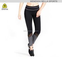 Bella-6-002-B anti-fatigue running leggings yoga pants gym clothes women ladies