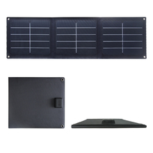 sunpower cell 32w etfe foldable marine cell phone solar power battery panel charger 12v