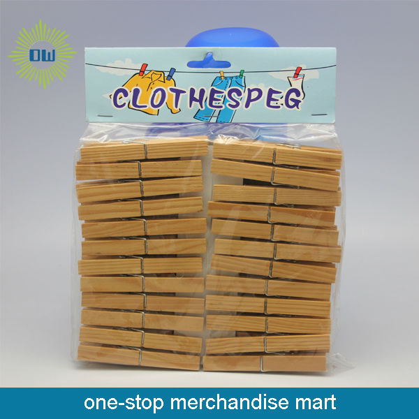 24 pcs 10 cm Wooden Cloth Peg