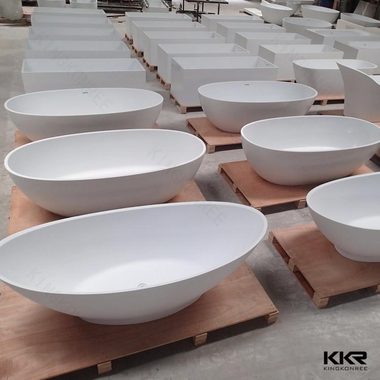 best quality artificial stone bathtub small square bathtub sizes buy
