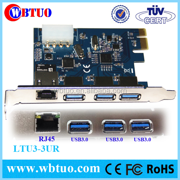 pci express converter card pcie to usb lan card