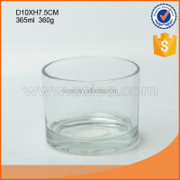 High quality different size crystal clear classical candle holder