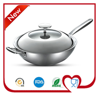 Enjoying Market Popularity Non-stick Stainless Steel Cooking Ware