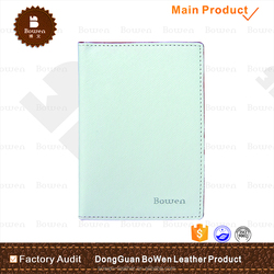 New arrival top grade leather rfid blocking passport cover with card slots