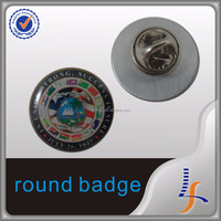 Cheap Custom Print And Enamel Metal Security Badges