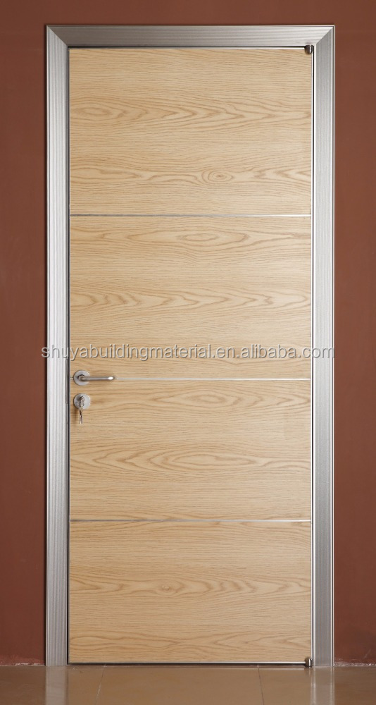 New security steel main double door design