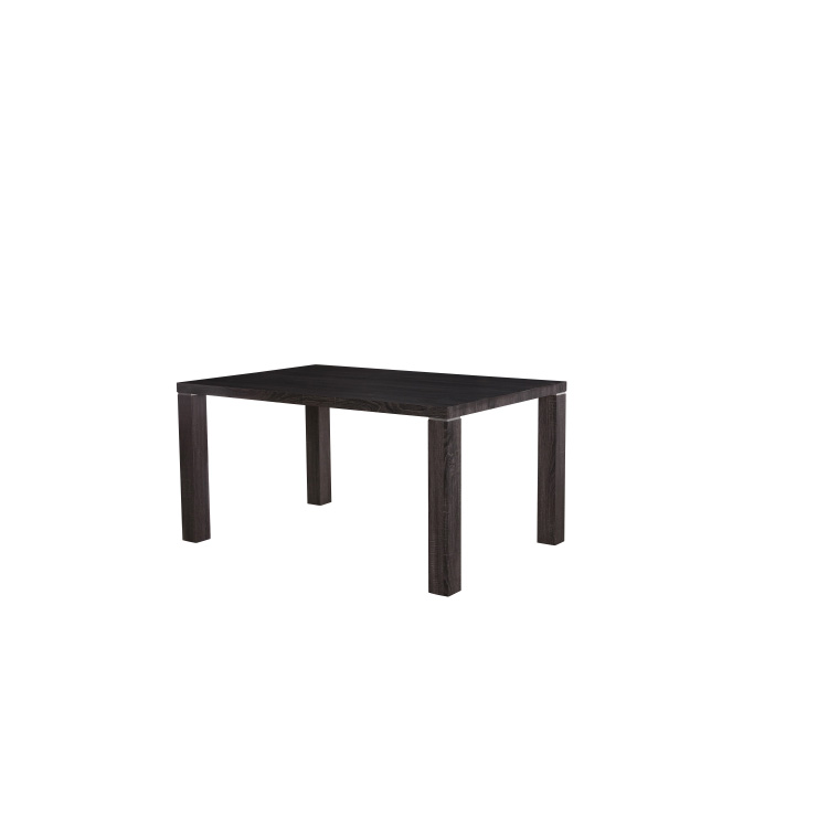 New Product 2017 wholesale mdf dining table imported top MDF extending