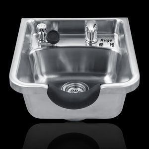 American Salon Style Stainless Steel Portable Shampoo Bowl