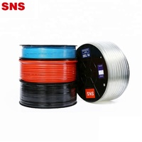 SNS APU Series polyurethane flexible pneumatic PU tube air hose with red blue black transparent