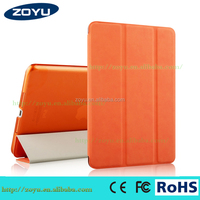 pu Leather Smart Holder Cover for apple air2 ipad air 2 smart case
