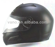 China Wholesaler of DOT Approved ABS Shell Safety Adult Black Full Face Helmet for Scooter