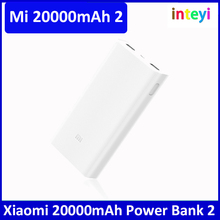 Original 20000mAh Xiaomi Mi Power Bank2 Bank 2 Portable 20000 External Battery Pack Charger 20000mAh Dual USB For Mobilephone