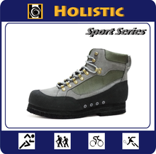 Fishing shoes with special furry cleats sole prevent slippery while rock fishing / fishing equipment