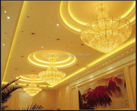 India hotel pendant Light, corridor ceiling light,iron crystal pendant lamp